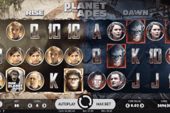 planet of the apes netent pokie