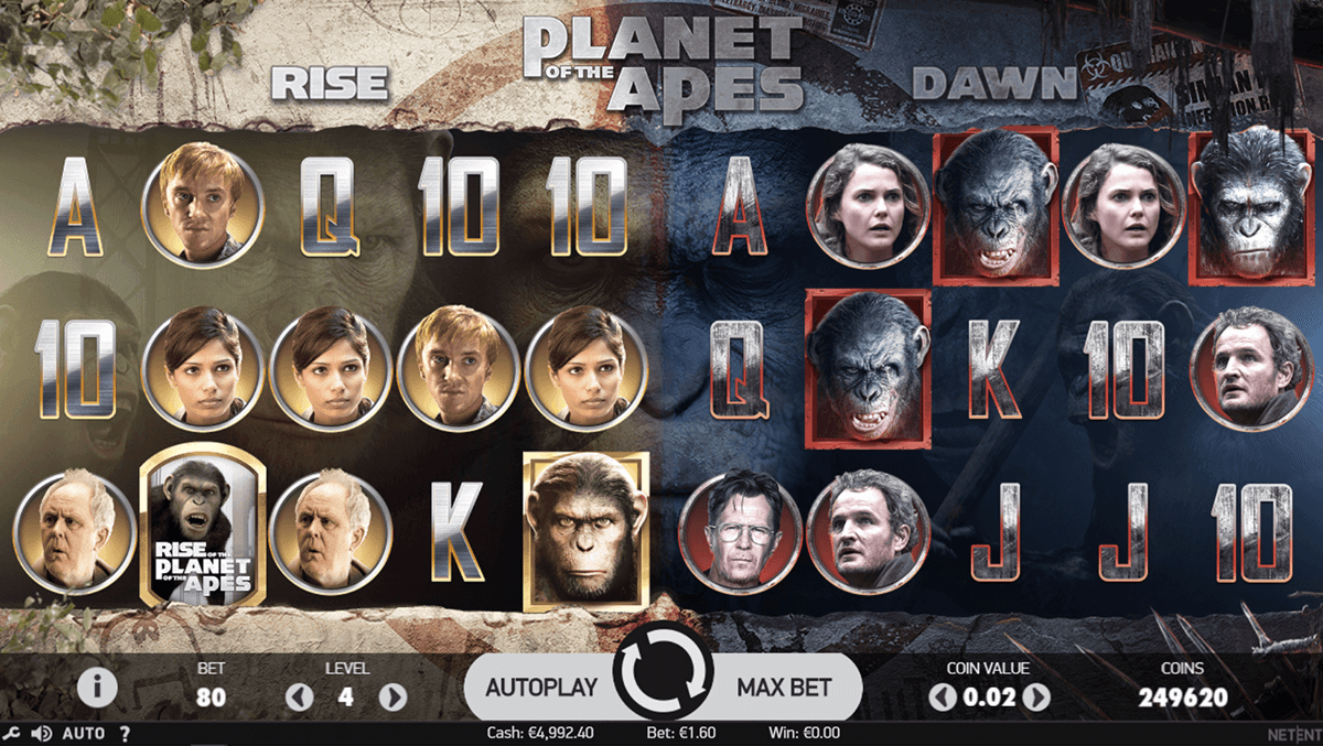 Planet of the Apes Slot Machine Online ᐈ NetEnt™ Casino Slots