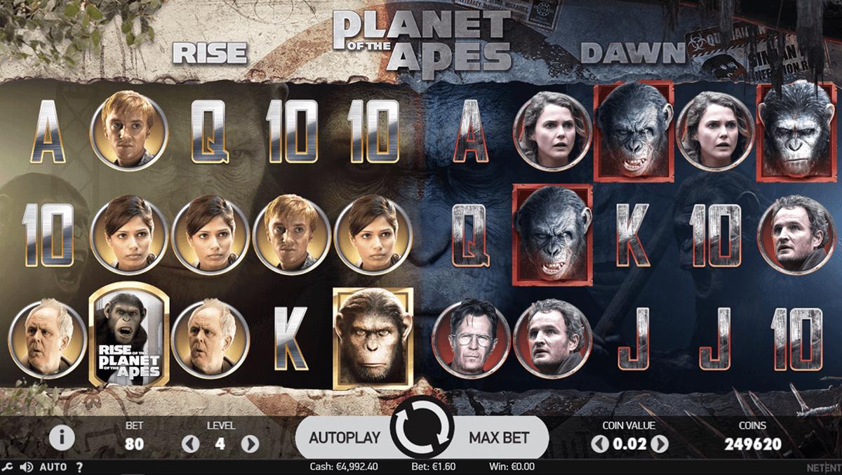 Planet of the Apes Slot Machine Online ᐈ NetEnt™ Casino Slots