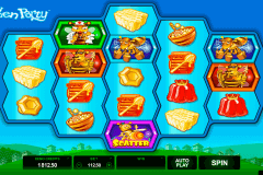 pollen party microgaming pokie