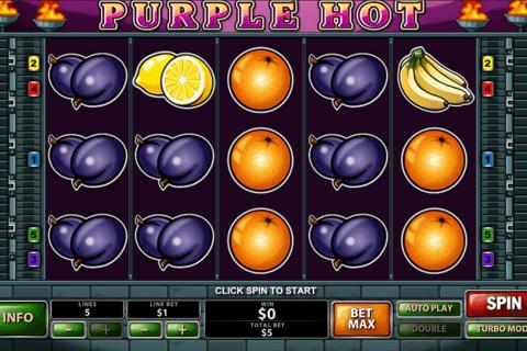 purple hot playtech pokie