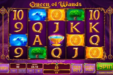 queen of wands playtech pokie