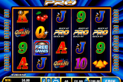 quick hit pro bally pokie