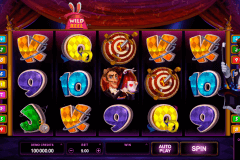 rabbit in the hat microgaming pokie