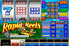 rapid reels microgaming pokie