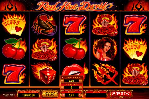 red hot devil microgaming pokie