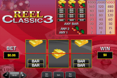 reel classic  playtech pokie