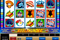 reel thunder microgaming pokie
