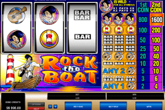 rock the boat microgaming pokie