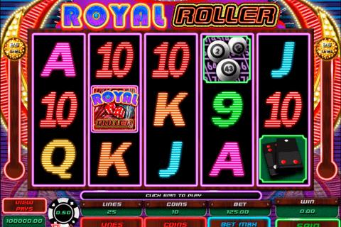 royal roller microgaming pokie