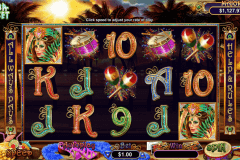 samba sunset rtg pokie