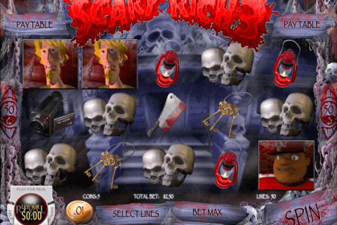 scary rich  rival pokie