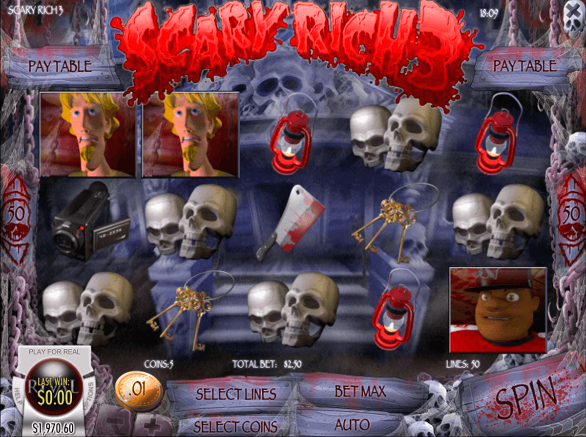 scary rich 3 rival pokie