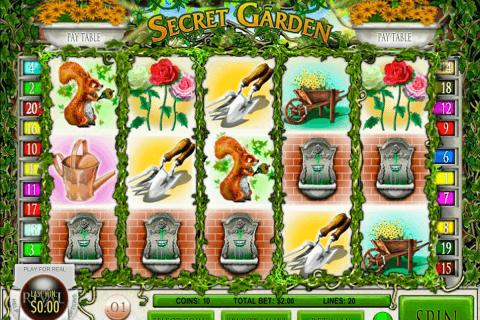 secret garden rival pokie