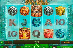 secret of the stones netent pokie
