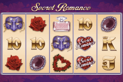 secret romance microgaming pokie