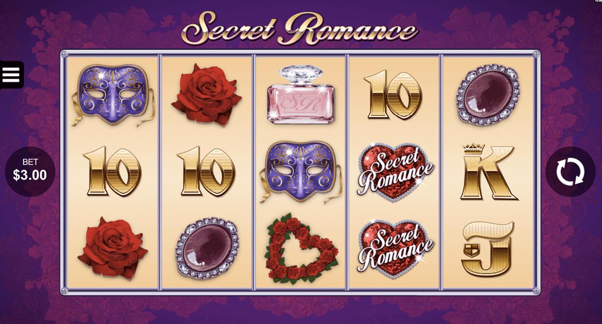secret romance microgaming pokie