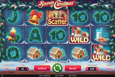 secrets of christmas netent pokie