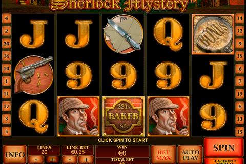 sherlock mystery playtech pokie