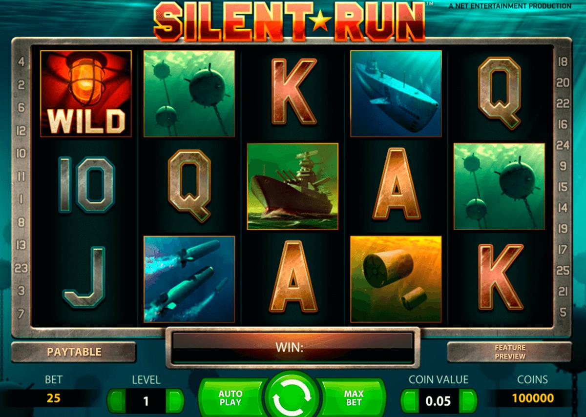silent run netent pokie