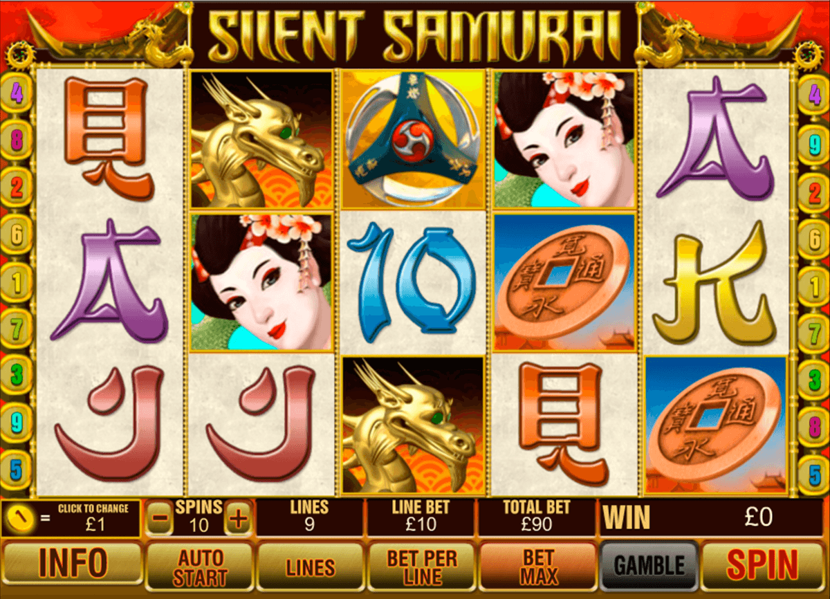 Silent Samurai™ Slot Machine Game to Play Free in Playtechs Online Casinos