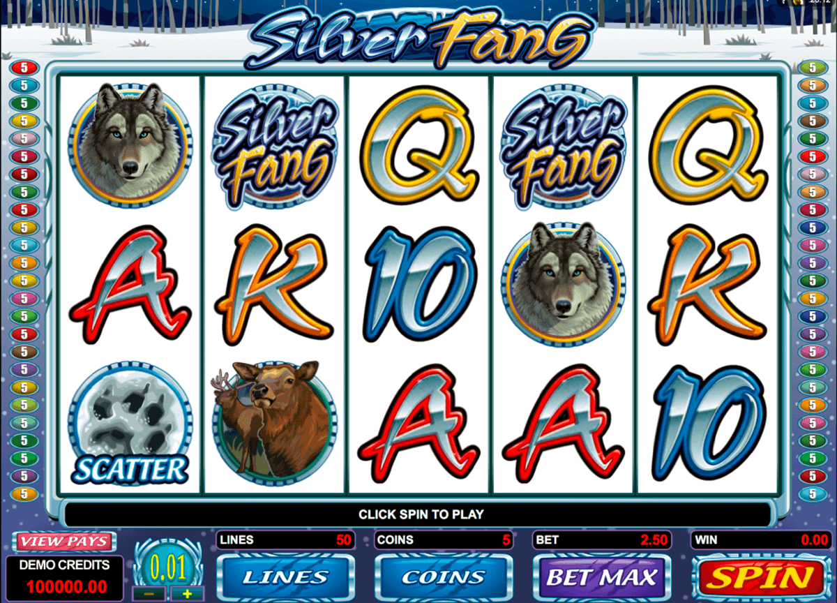 silver fang microgaming pokie