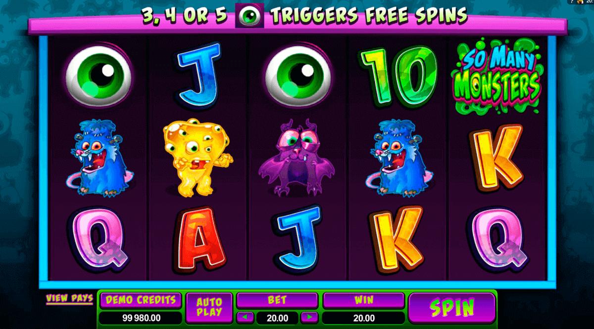 So Many Monsters Slot Machine