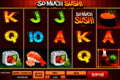 so much sushi microgaming pokie