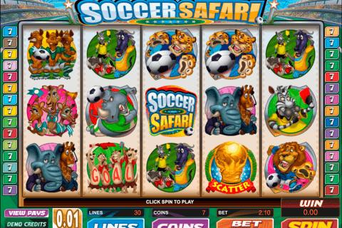 soccer safari microgaming pokie