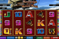 sovereign of the seven seas microgaming pokie