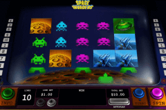 space invaders playtech pokie