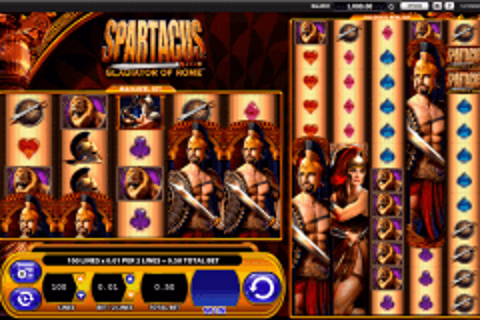 spartacus wms pokie