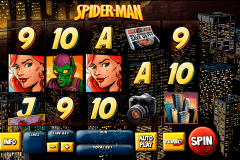 spider man attack of the goblin playtech pokie