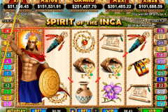 spirit of the inca rtg pokie
