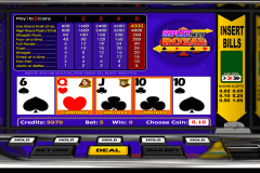 split way royal betsoft video poker