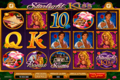 starlight kiss microgaming pokie