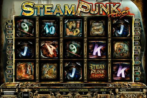 steam punk heroes microgaming pokie