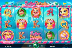 sugar parade microgaming pokie