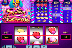 sultans fortune playtech pokie