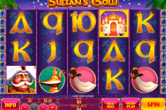 sultans gold playtech pokie