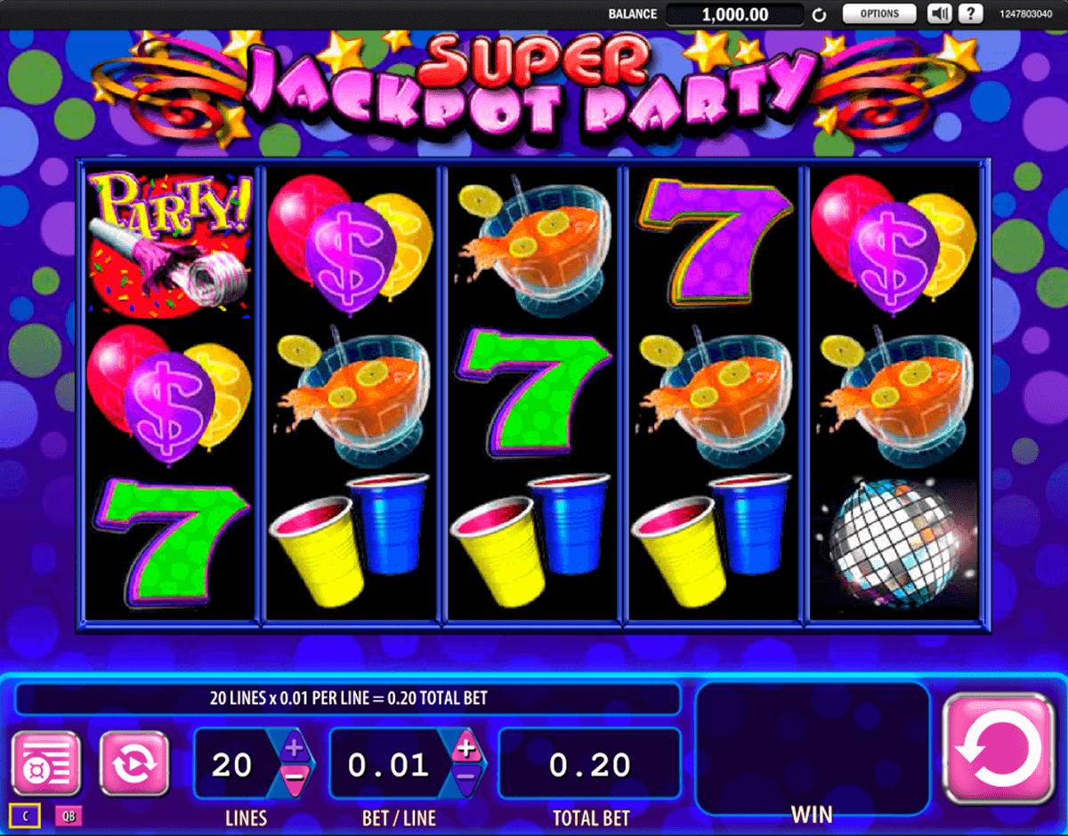 super jackpot party wms pokie