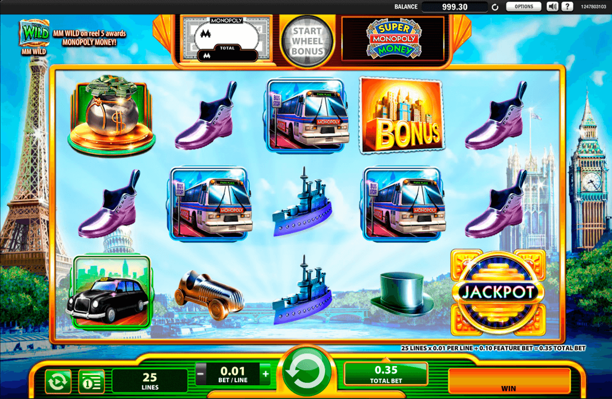 Super Monopoly Money Slot Machine Play Free Wms Pokies Online