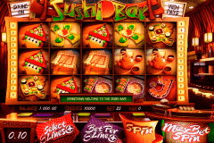 sushi bar betsoft pokie