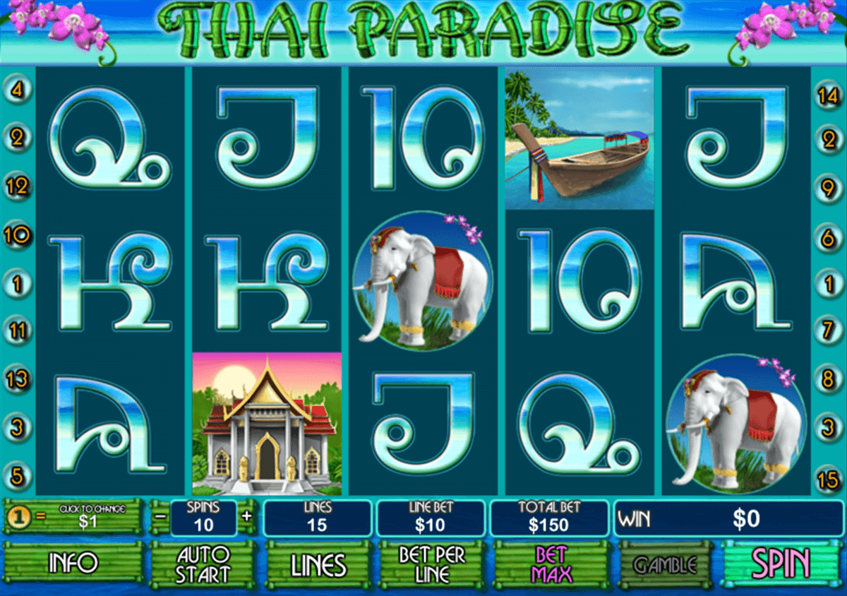 Thai Paradise™ Slot Machine Game to Play Free in Playtechs Online Casinos