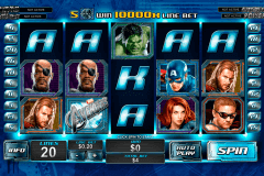 the avengers playtech pokie
