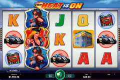 the heat is on microgaming pokie