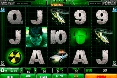 the incredible hulk  lines playtech pokie