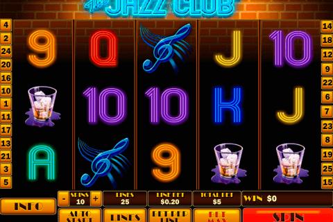 the jazz club playtech pokie
