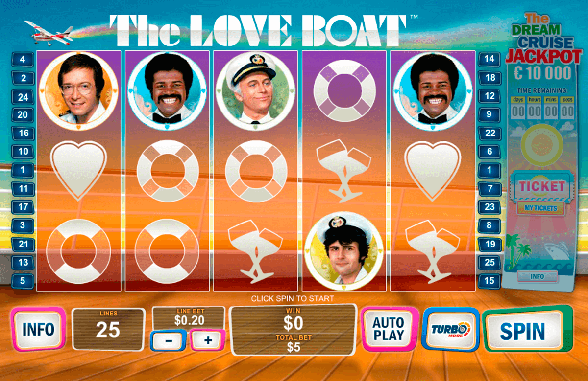 Play The Love Boat Pokie at Casino.com Australia