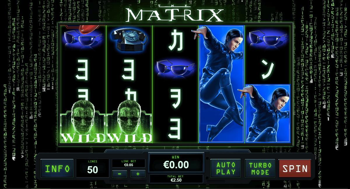 the matrix playtech pokie